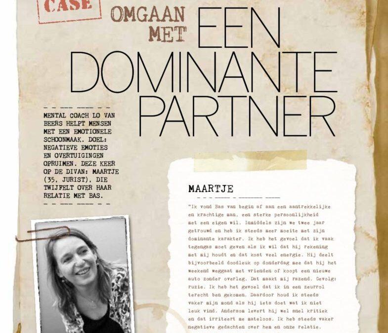 Omgaan met een dominante partner
